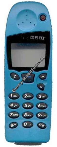 Oberschale für Nokia 5110 5130 blau Zubehöroberschale nicht original (cover)
