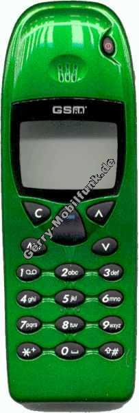 Oberschale für Nokia 5110 5130 Look 6110 Grünmetallic Zubehöroberschale nicht original (cover)