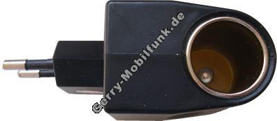 Spannungswandler 220V/12V 450mAh (Autoladekabel)