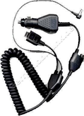 Kfz-Ladekabel mit Antennenadapter für Motorola D160/D170/CD160 (Autoladekabel)