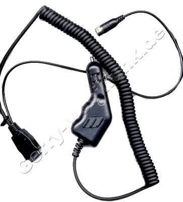 Kfz-Ladekabel mit Antennenadapter für Panasonic G500/G400 (Autoladekabel)