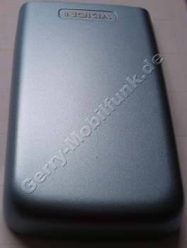 Akkufach blau Original Nokia 6290 Batteriefachdeckel