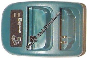 Duoladestation für Ericsson T10/T18/7xx grün (ohne Netzteil) Minilader Tischlader