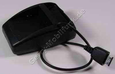 Duoladestation Samsung SGH-G600 schwarz incl. Netzteil Minilader Tischlader
