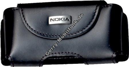CNT-119 originale Nokia Quer-Ledertasche 7650