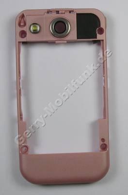 Unterschale Tastatur Pink Nokia 7390 original Cover mit Akkuverschluß, Bluetooth Antenne, Ladebuchse, Ladekonnektor, Blitzlicht LED, Kamerascheibe