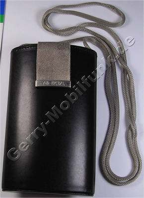 CBN-5 orgiginal Nokia 51er 61er 7110 6210 8110 Tasche mit silb.Schulterriemen Marimekko (empf. VK 65,-)